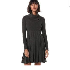 Calvin Klein Long Sleeve Cowl Neck Sweater Dress
